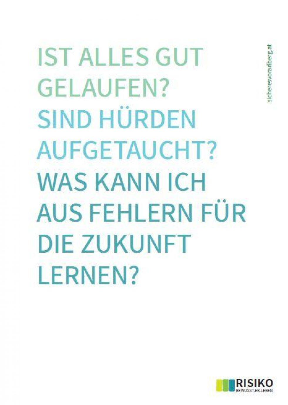 Risiko suchen_reflect_Fragen