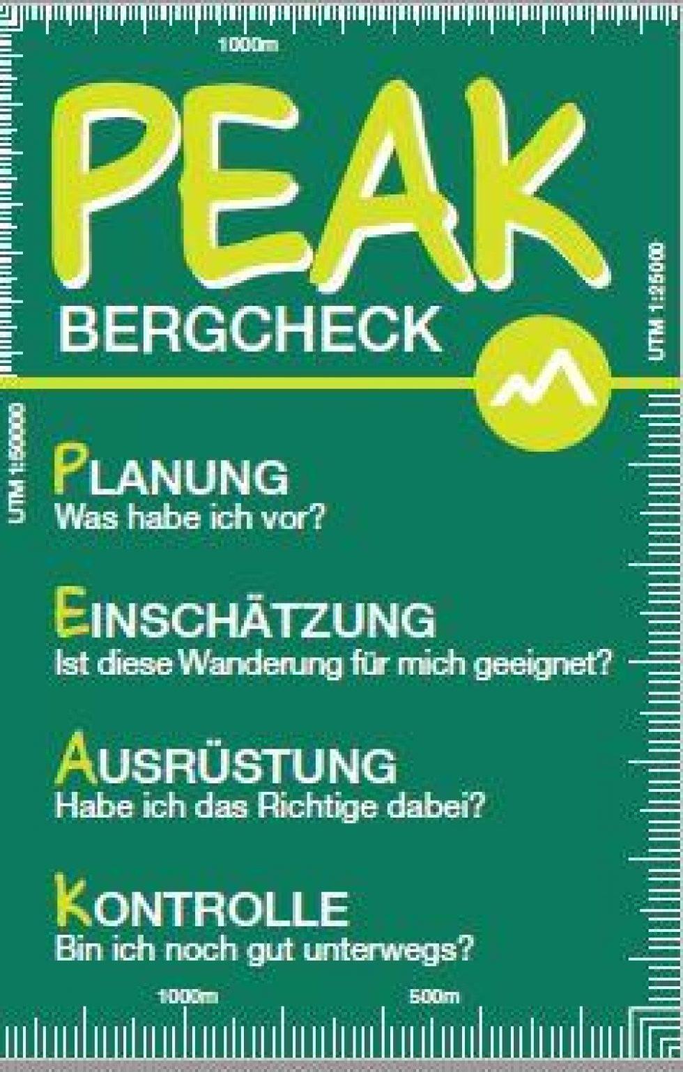 Peak Bergcheck