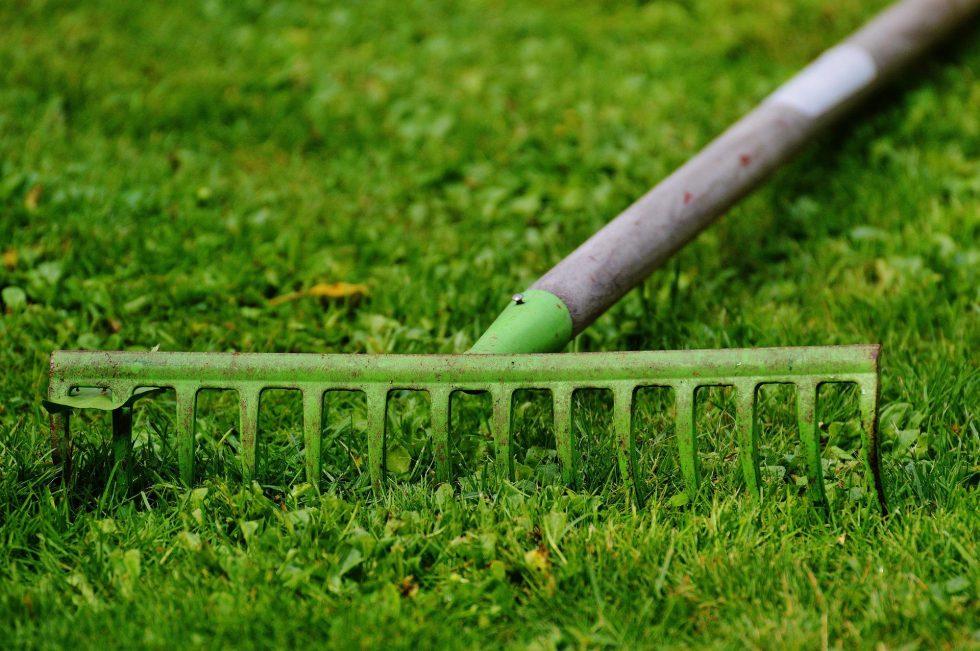 Rechen Gartenarbeit