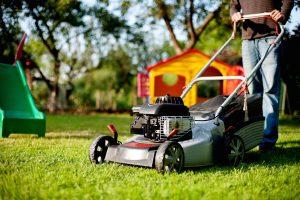 Tipps für den Garten beim Rasenmähen