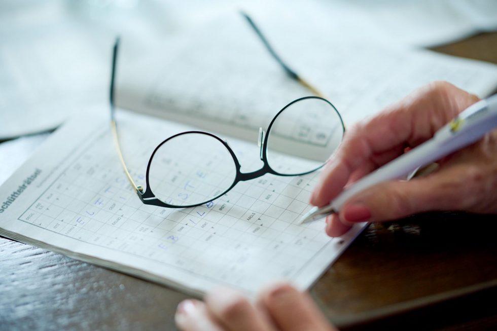 Hilfsmittel Brille